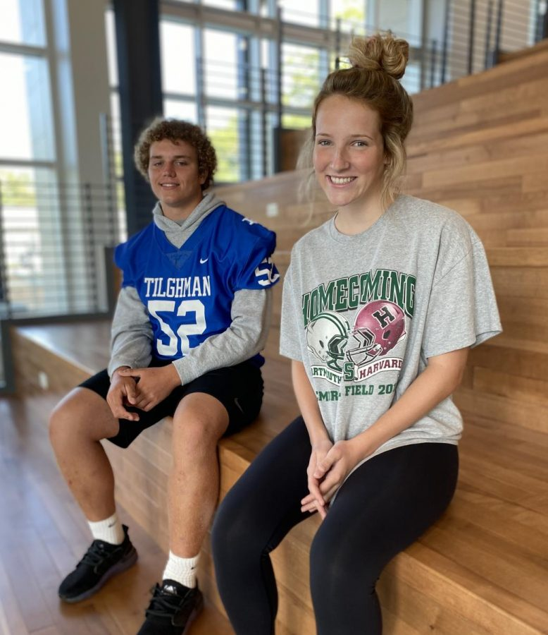 LeBuhn and Tyrrell Named Rotary Scholars