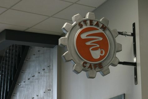 Steam Cafe in the Innovation Hub offers students several food and beverage options throughout the school day.
