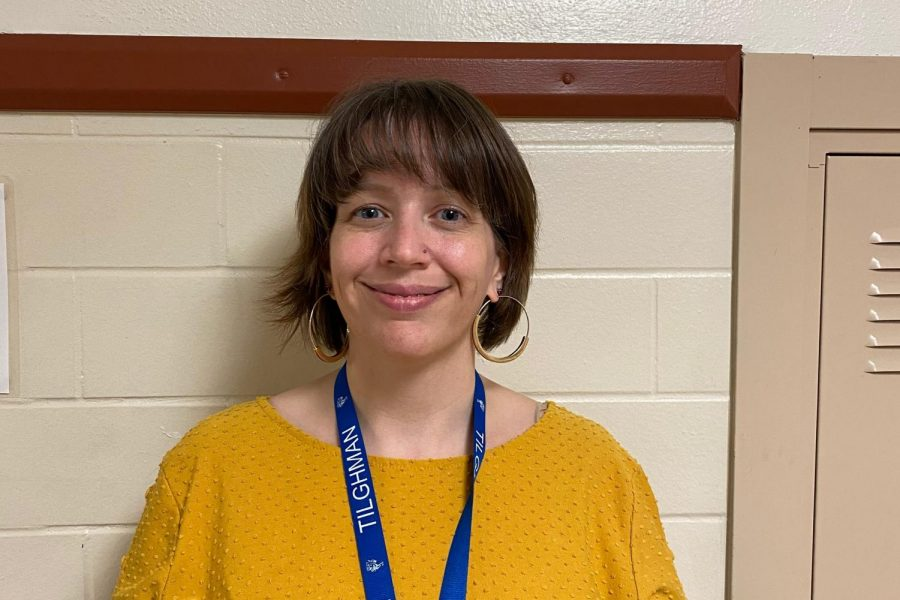 Mrs. Amanda Sadler is another teacher we would like to welcome. Mrs. Sadler is our economics, government, and U.S. history teacher. She attended Murray State University, where she got a Bachelors of Science degree in history and social studies. She was attracted to Tilghman for the diversity and community culture. In her time here so far, Mrs. Sadler loves the family-like atmosphere and inclusion of everyone here. Some of her hobbies include crochet, knitting, camping and reading sci-fi or historical fiction. Something students don't see a lot around here is roller derby, in which she used to participate.